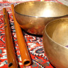 singing bowls and flutes